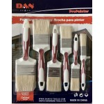 6 PCS Brush Set-Red